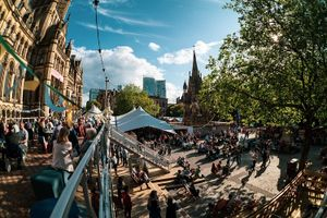 Exterior Photo of Festival Square at MIF