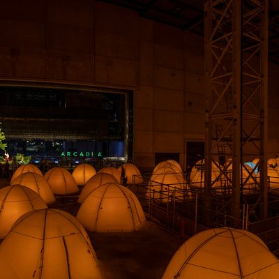 A production photo of Arcadia at The Factory at MIF21